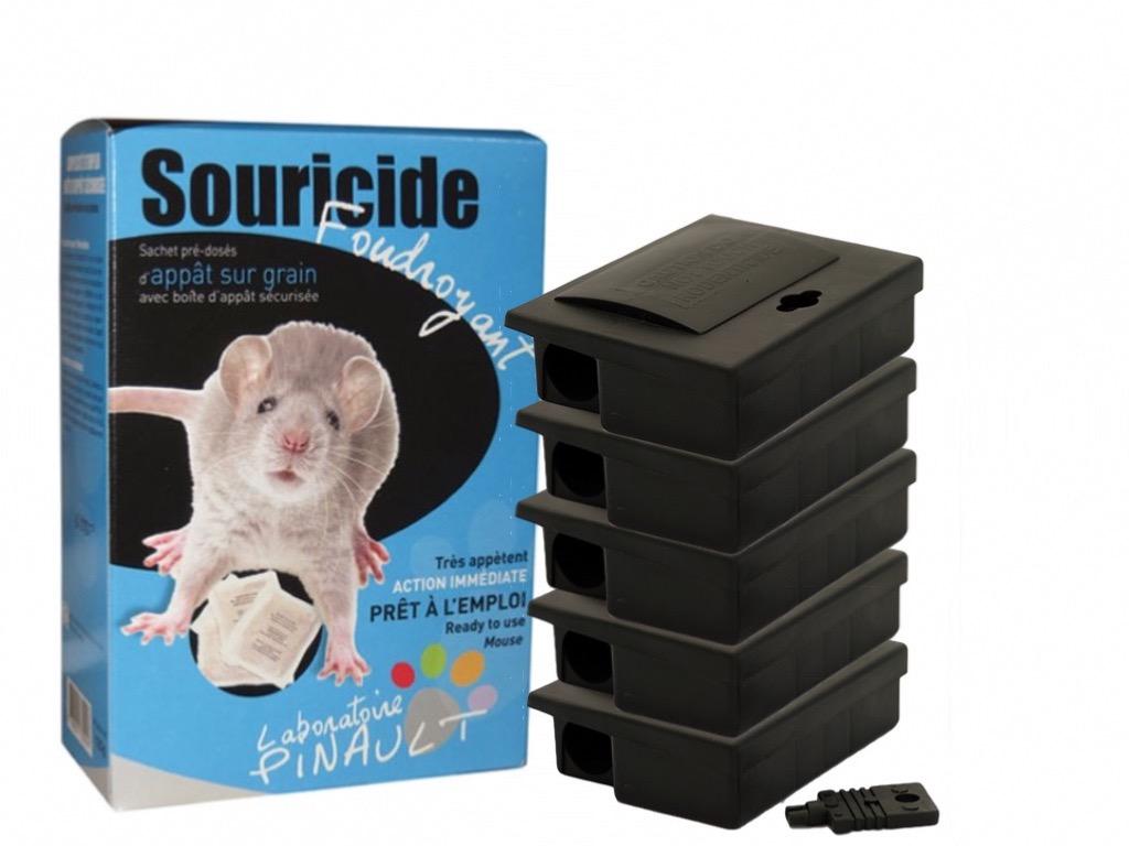 poison souris foudroyant 5 boites s curis es. Black Bedroom Furniture Sets. Home Design Ideas
